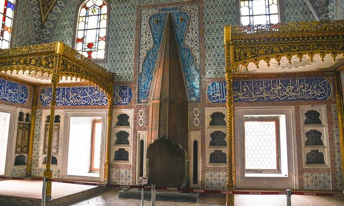 Спальня Мурада III во дворце Топкапы