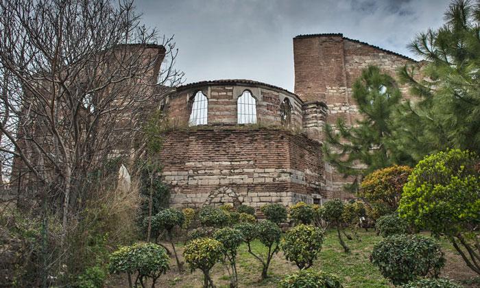 Руины Студийского монастыря в Стамбуле