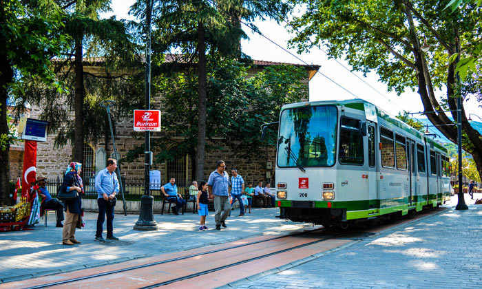 Городской трамвай Бурсы