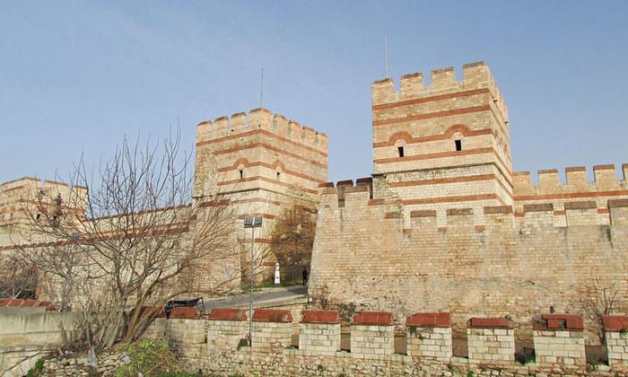 Стены Константинополя Стамбула