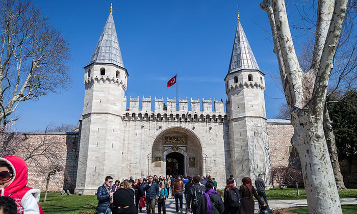 Ворота Приветствия в Стамбуле