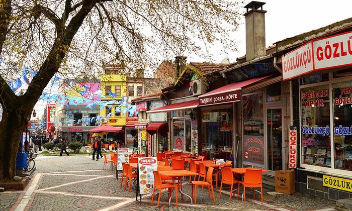 Уличные кафе Эдирне