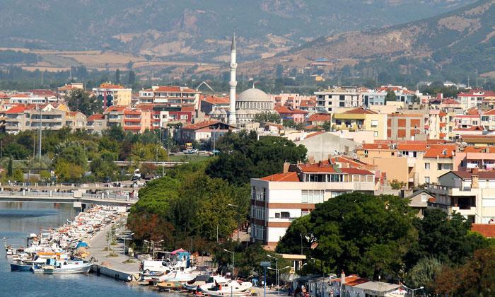 Город Чанаккале в Турции