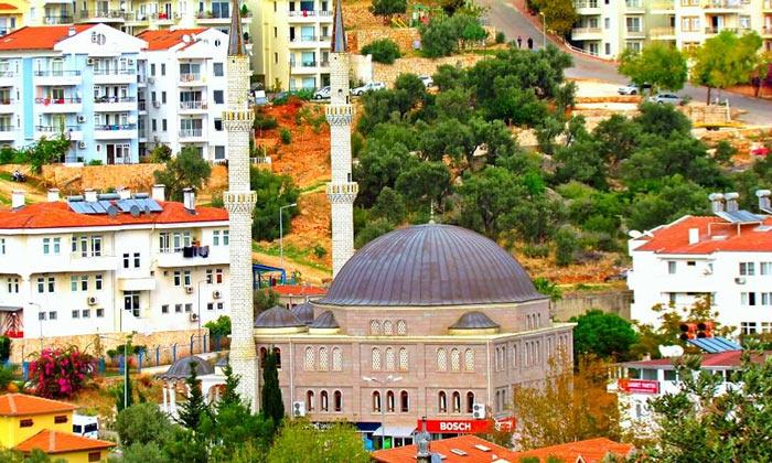 Одна из мечетей Каша