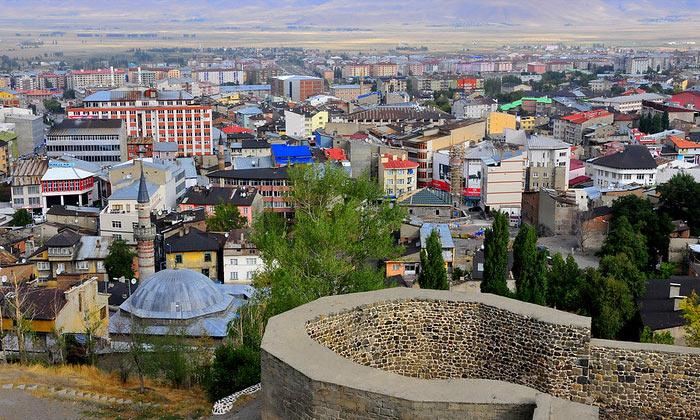Город Эрзурум в Турции