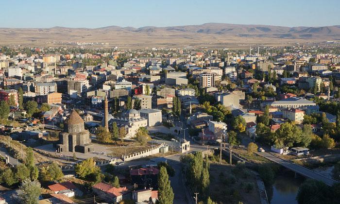 Город Карс в Турции