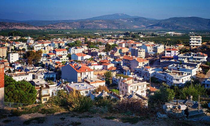 Город Сельчук в Турции