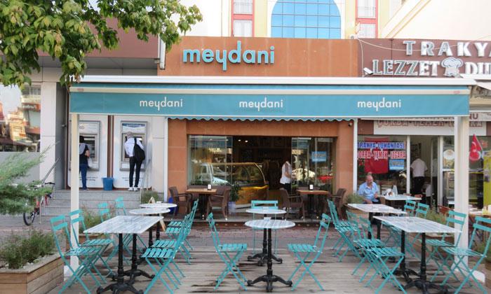 Кафе «Meydani» в Чанаккале