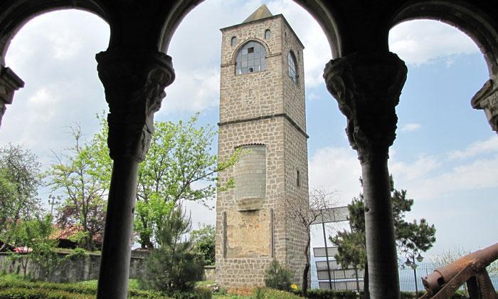 Колокольня Айя Софии в Трабзоне