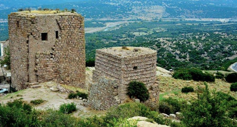 Остатки древнего города Ассос