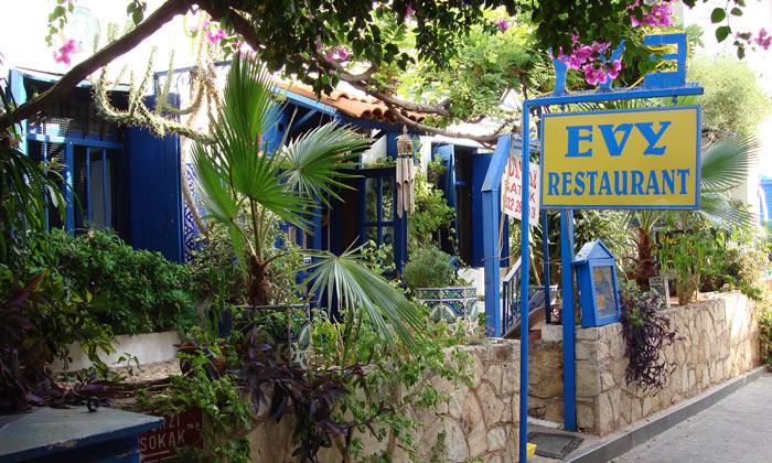 Ресторан «Evy» в Каше