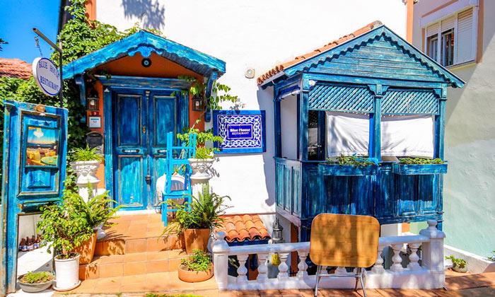 Ресторан «Blue House» в Каше