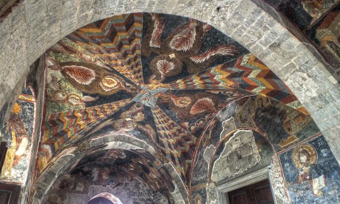 Красочные фрески Айя Софии в Трабзоне
