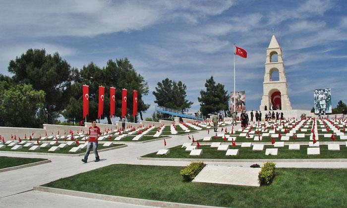 Военное кладбище в Галлиполи