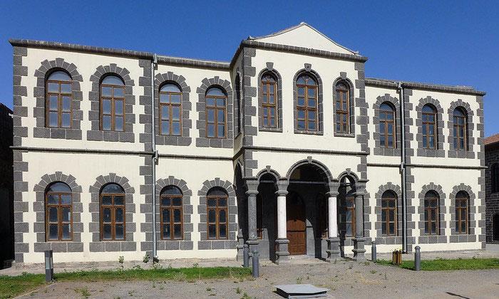 Старая архитектура Диярбакыра