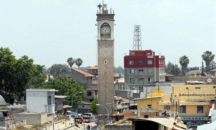 Часовая башня Бюйюк в Адане