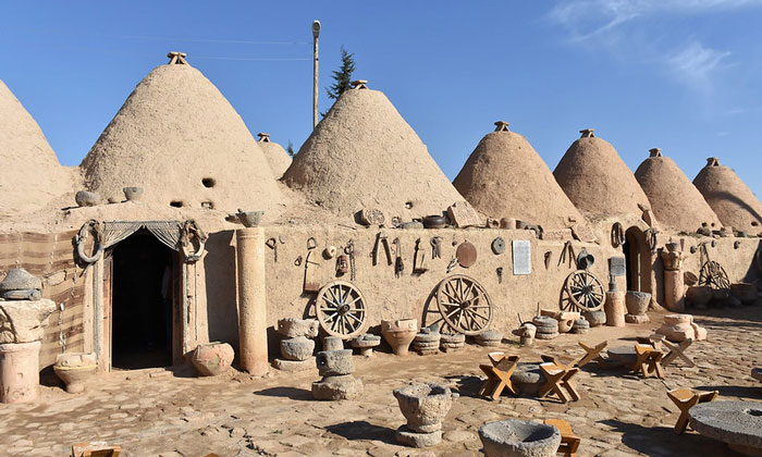 Традиционные дома из Харрана