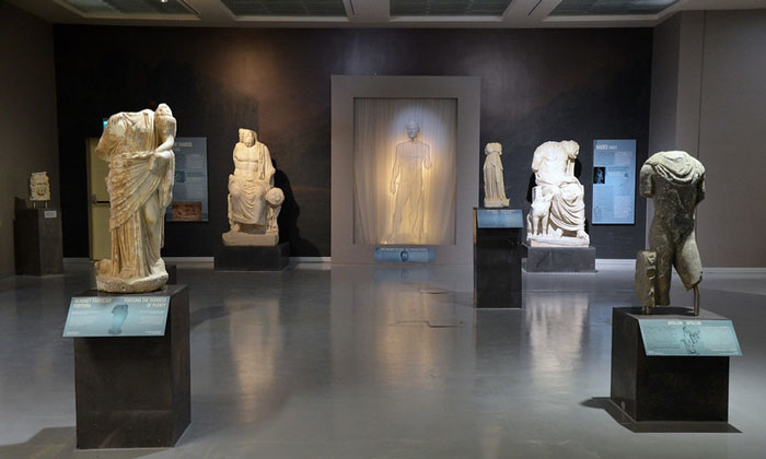 Экспонаты Археологического музея Антакьи