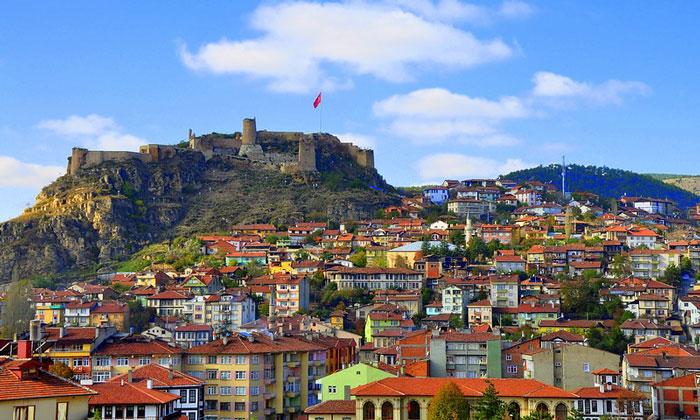 Город Амасра в Турции