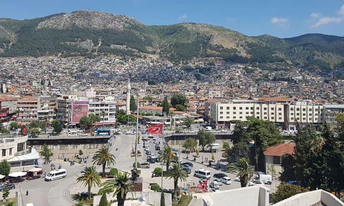 Город Антакья в Турции