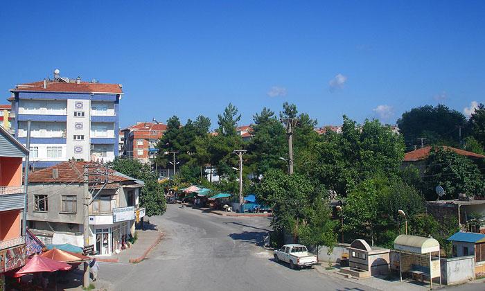 Город Бафра в Турции