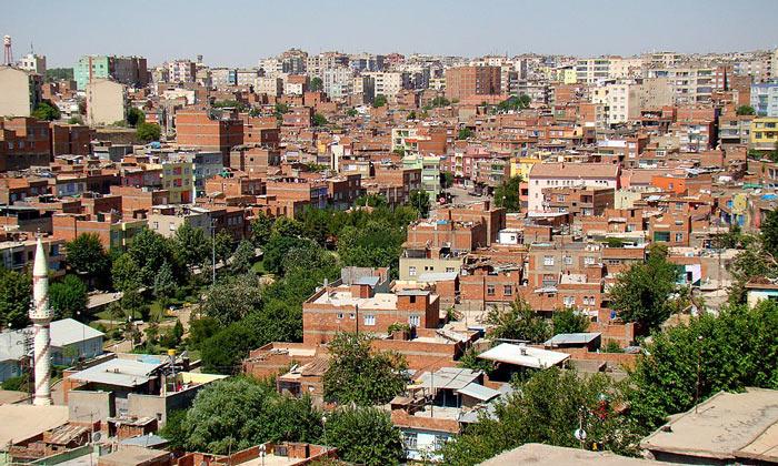 Город Диярбакыр в Турции