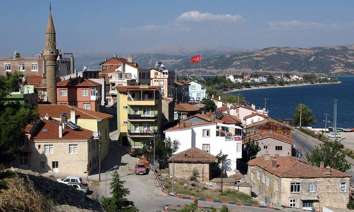Город Эгридир в Турции