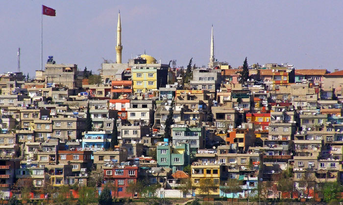 Город Газиантеп в Турции
