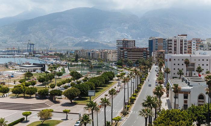 Город Искендерун в Турции