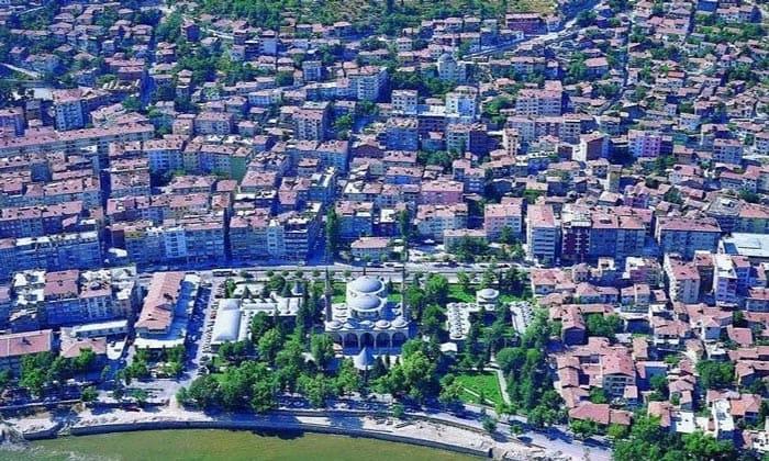 Город Малатья в Турции