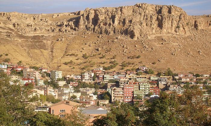 Город Мардин в Турции
