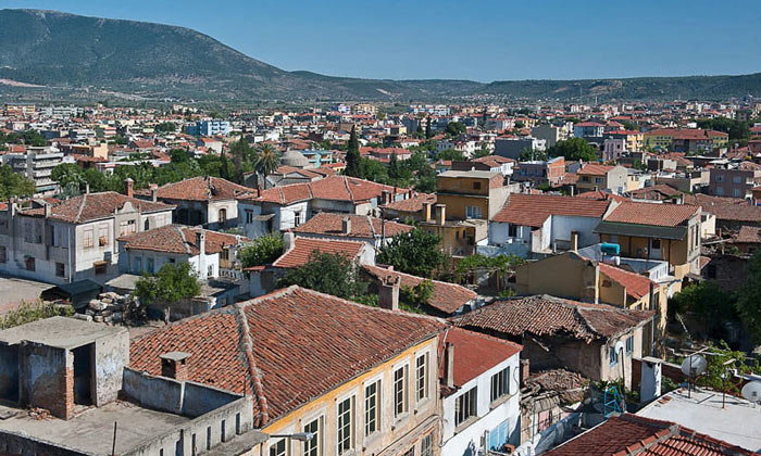 Город Милас в Турции