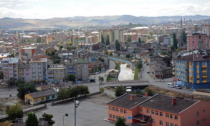Город Сивас в Турции
