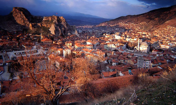 Город Токат в Турции