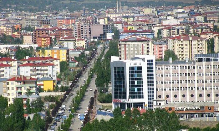 Город Ван в Турции
