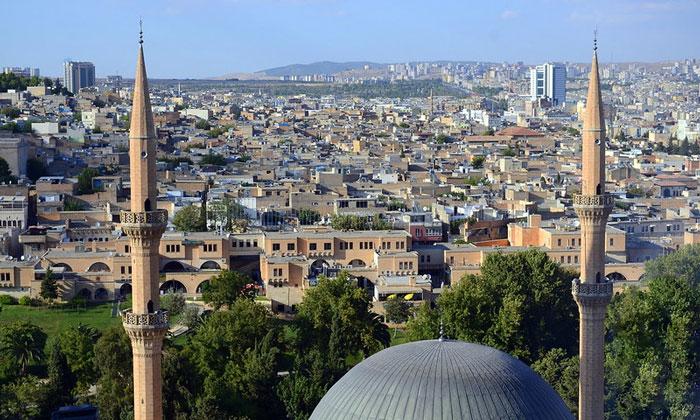 Город Урфа в Турции