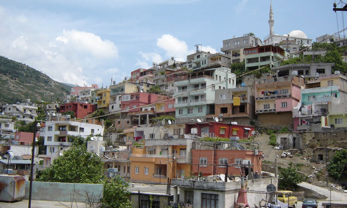 Городок Белен в Турции