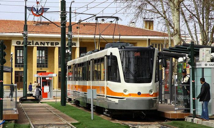 Железнодорожный вокзал Газиантепа