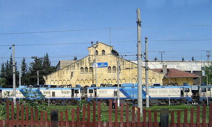Железнодорожный вокзал Искендеруна