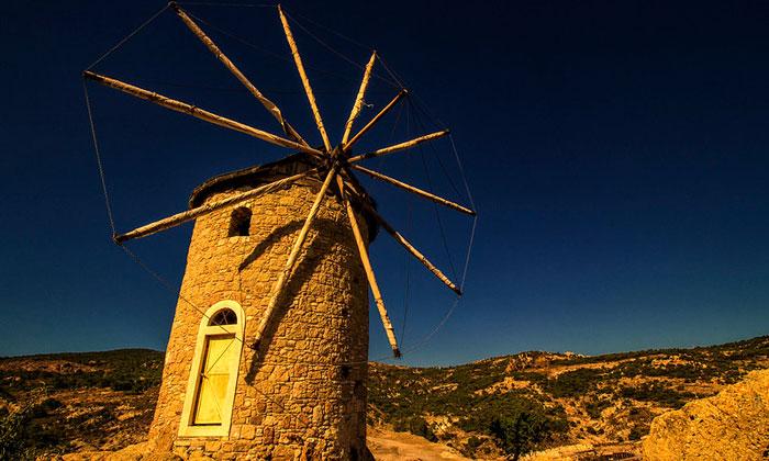 Ветряная мельница Фочи