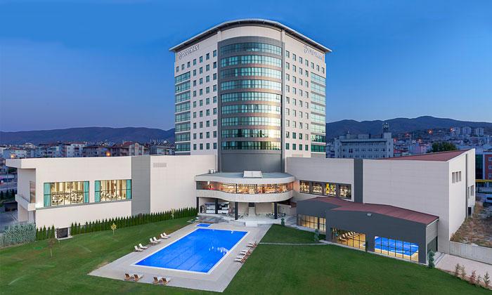 Отель «Dedeman» в Токате