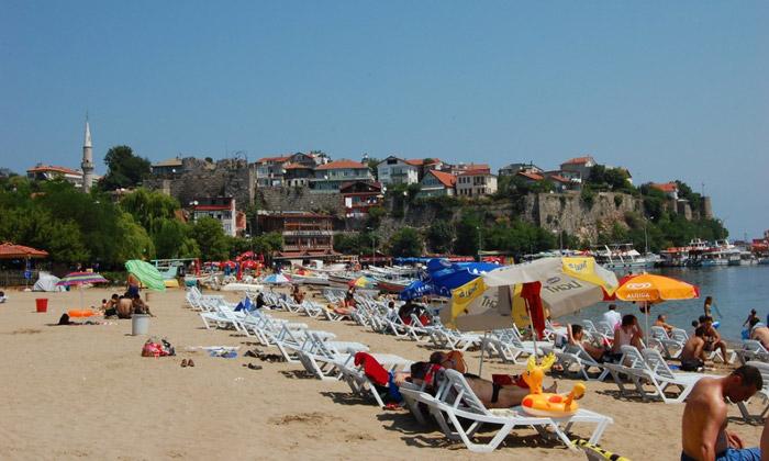 Пляж Амасры