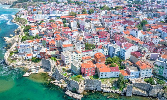 Город Синоп в Турции