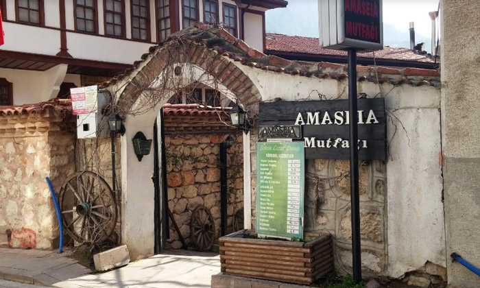 Ресторан «Amaseia Mutfagi» в Амасье
