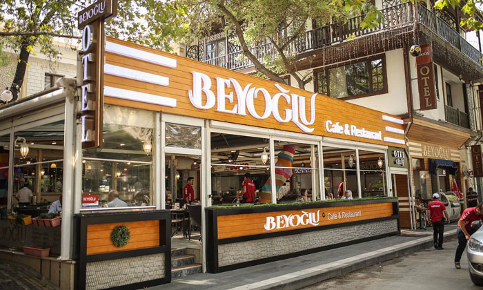 Кафе-ресторан «Beyoglu» в Амасье