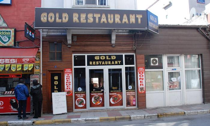 Ресторан «Gold» в Синопе