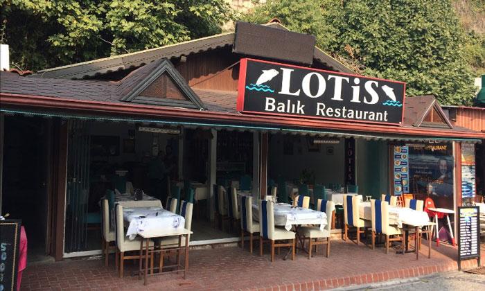 Ресторан Lotis в Амасре