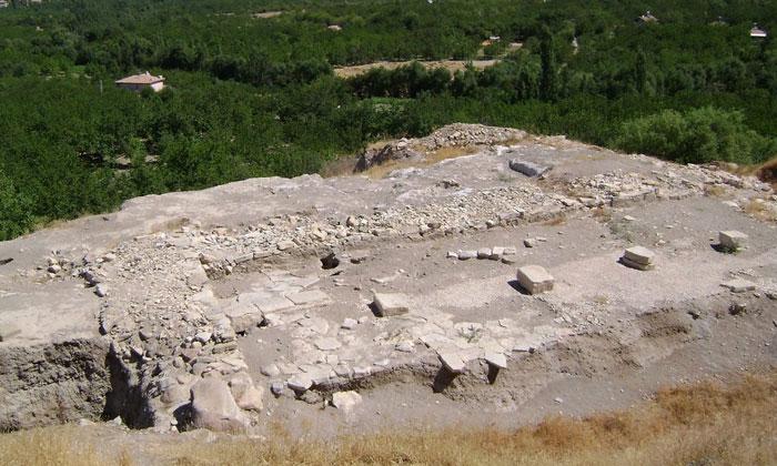 Руины Аслантепе в Турции