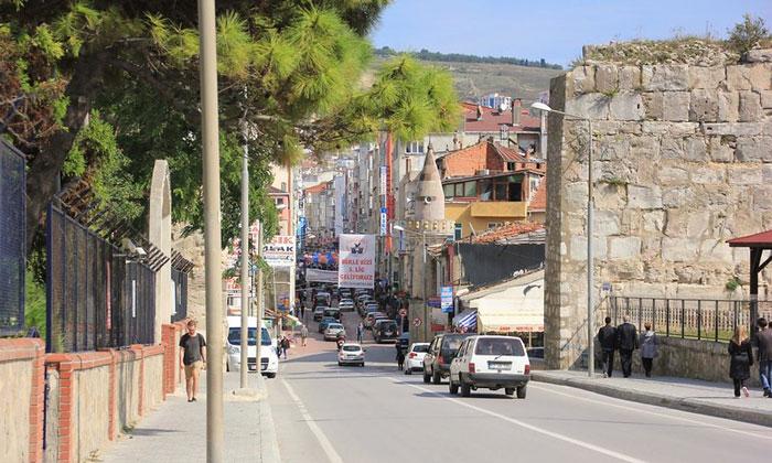 Улицы Синопа в Турции