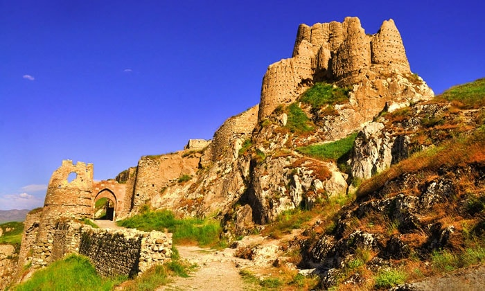 Урартская крепость Тушпа (замок Вана)